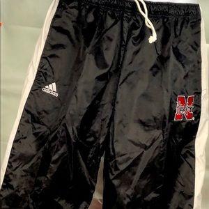 Item #241. Adidas Nebraska , MEN  Sport pants M